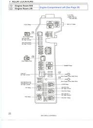 toyota corolla fuse box 2005 toyota wiring diagrams collection
