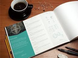 free resume template vol 1 by vivien bocquelet dribbble