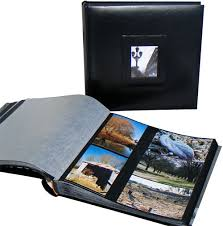 scopetest eternity bliss mount photo albums in black with