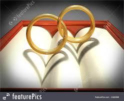 interlocked wedding rings interlocking wedding rings illustration