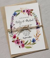wedding invitations floral best 25 bohemian wedding invitations ideas on wedding
