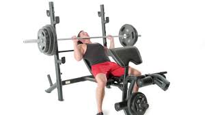 marcy md 867w diamond weight bench workout demonstration youtube