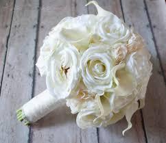 Shabby Chic Bridal Bouquet by Shabby Chic Wedding Bouquet Ivory Rose Ranunculus Hydrangea