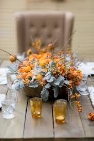 Fall Table Decorations by Fall Center Pieces Ideas Homesfeed
