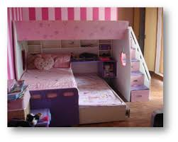 3 Way Bunk Bed 3 Bed Bunk Beds Building Plans For Loft Bed With Stairs Diy