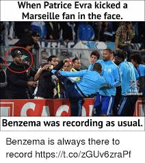 Patrice Meme - when patrice evra kicked a marseille fan in the face fbcom