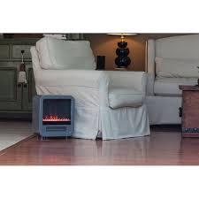 Fire Sense Electric Fireplace - fire sense 61449 silver skyline electric fireplace stove ebay