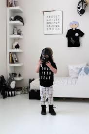 chambre fille noir et blanc une chambre d enfant en noir et blanc