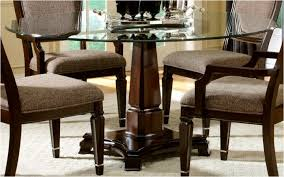 Glass Dining Room Table And Chairs Kitchen Classy Dining Table Design With Glass Top Glass Dining