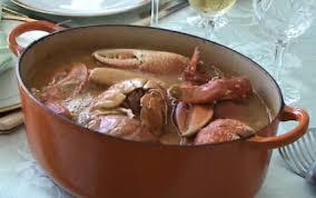 cuisiner homard surgelé recette homard à l américaine ou à l armoricaine 750g