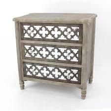 kirkland u0027s wood mirrored cabinet
