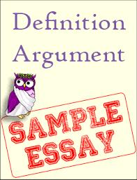 sample definition argument excelsior college owl