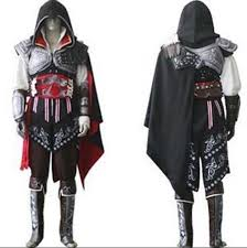 Sasuke Halloween Costumes Assassin U0027s Creed Ii 2 Ezio Black Flag Cosplay Auditore Da Firenze