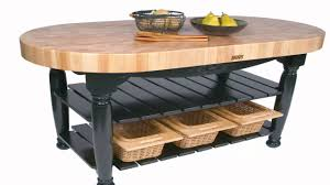 butcher block table plans youtube