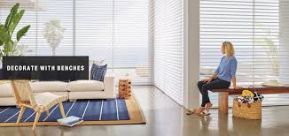 decorate with benches u2013 design ideas by superior blinds in
