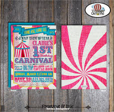 33 carnival birthday invitation templates u2013 free sample example