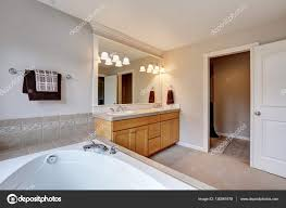 bright bathroom interior with clean bright and clean bathroom interior with sink vanity cabinet