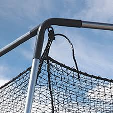 atec 40 u0027 backyard batting cage kit