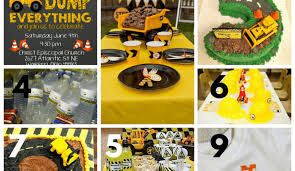 construction birthday party let s plan a party construction birthday party ideas our home
