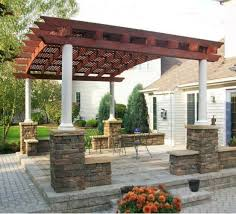 Free Standing Patio Plans Comfy Roof Designs Pergola Plans Together With Free Standing Patio