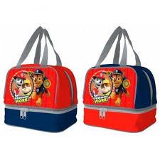 lunch bag paw patrol 20x14x18 oficial stock