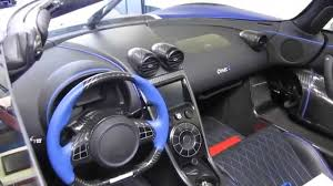 koenigsegg one blue koenigsegg one 1 tour youtube