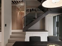 multilevel contemporary apartment by wch studio caandesign