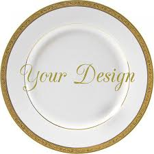 personalized china plates customizable plates custom dinnerware customizable dishes