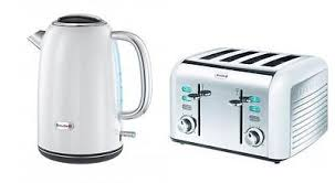 breville opula white 4 slice toaster and 1 7l kettle set vkj567