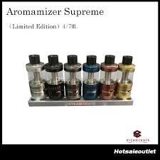 Eleaf Lemo Drop Rdta Rebuildable Atomizer 2 7ml authentic steam crave newest aromamizer supreme rdta limited edition