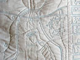 san francisco map quilt central park soft map by emily fischer s haptic lab inhabitat