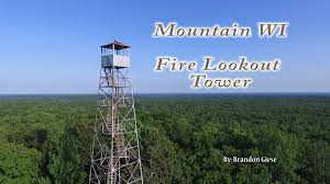 Wisconsin mountains images Mountain wi fire lookout tower jpg
