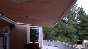Motorized Awning Windows Motorized Awnings For Patio Shade And Window Shade General