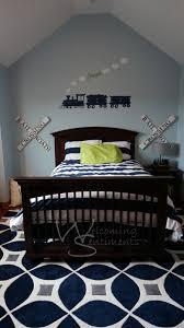 little boy dream train bedroom