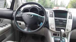 lexus rx400h colors 2006 lexus rx400h silver stock 5189a interior youtube