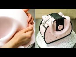 simple purse cake decorating how to by cakesstepbystep