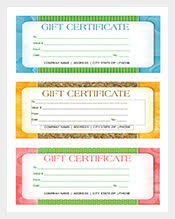 142 gift certificate templates u2013 free sample example format