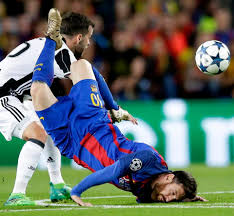 Hit The Floor Lionel - barcelona star lionel messi brutally face plants the floor in the
