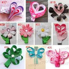 the ribbon boutique wholesale 2 3 baby hair bow handmade ribbon boutique hairbows