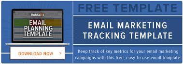 Email Marketing Report Template by Email Analytics The 6 Email Marketing Metrics Kpis You Should
