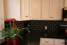kitchen countertops and backsplashes kitchen backsplash with black granite countertops and white