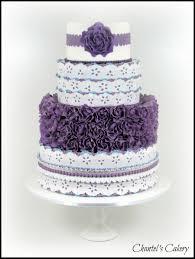 purple and blue wedding cake cakecentral com
