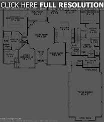 traditional house plan first floor 028d 0054 plans and single