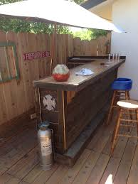 Decorative Coolers For The Patio by Good Idea For Small Bar In The Corner Of The Deck Pool