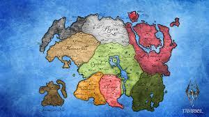 Elder Scrolls World Map by Tamriel Risk Elder Scrolls Album On Imgur
