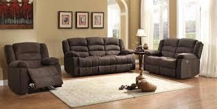 Reclining Sofa And Loveseat Sets Homelegance Greenville Reclining Sofa Set Chocolate 8436ch Sofa