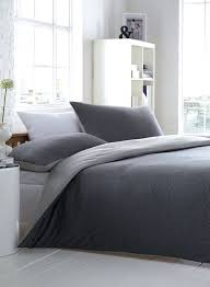 duvet covers grey jersey duvet cover black and white fine stripe