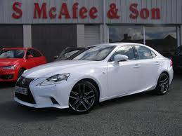 used lexus is 300h saloon 2 5 f sport e cvt 4dr in ballymena