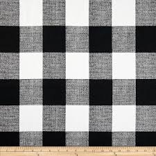 And Black Fabric For Curtains Premier Prints Check Black White Fabric By