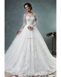 robe de mariã e manche longue dentelle robes de mariée de tulle et dentelle manches longues